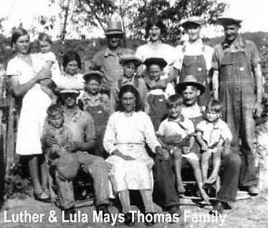 Luther Thomas Family