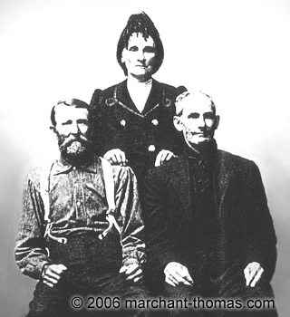 Edward Cole, Mary Cole, Pleasant Thomas